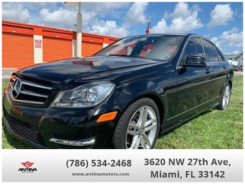 Mercedes Benz Of Miami >> 2014 Mercedes Benz C Class For Sale In Miami Fl