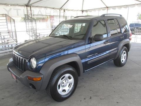 2003 Jeep Liberty for sale in Gardena, CA