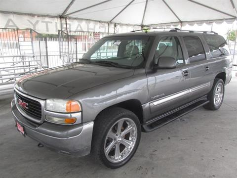 2002 GMC Yukon XL for sale in Gardena, CA