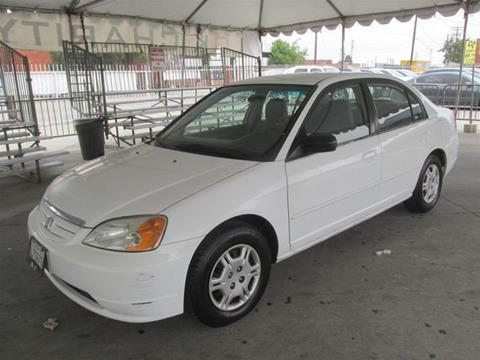 2002 Honda Civic for sale in Gardena, CA