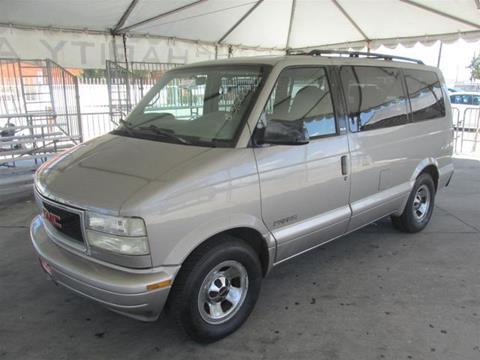 2001 GMC Safari for sale in Gardena, CA