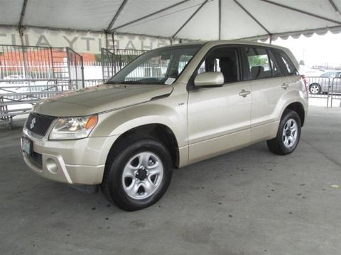 2006 Suzuki Grand Vitara for sale in Gardena, CA