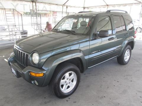 2002 Jeep Liberty for sale in Gardena, CA