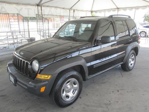 2007 Jeep Liberty for sale in Gardena, CA