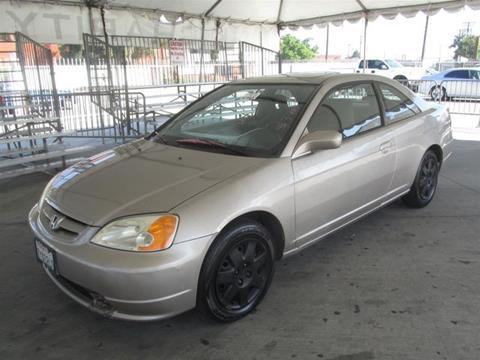 2002 Honda Civic for sale in Gardena, CA