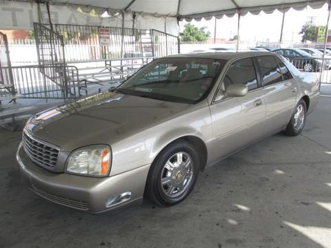 2003 Cadillac DeVille for sale in Gardena, CA