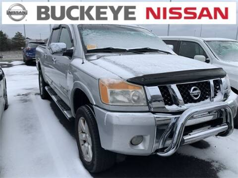2008 Nissan Titan for sale at BUCKEYE NISSAN INC in Hilliard OH