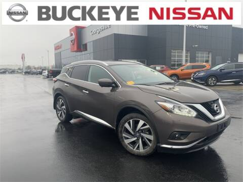 2017 Nissan Murano for sale at BUCKEYE NISSAN INC in Hilliard OH
