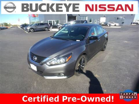 2017 Nissan Altima for sale at BUCKEYE NISSAN INC in Hilliard OH