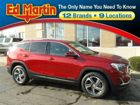 2020 GMC Terrain SLT for sale at ED MARTIN BUICK GMC in Carmel IN