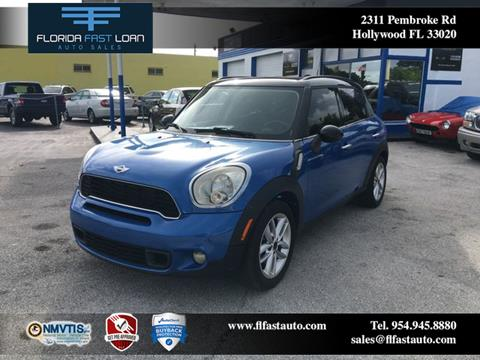 2011 MINI Cooper Countryman for sale in Hollywood, FL