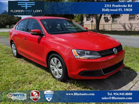 2013 Volkswagen Jetta for sale in Hollywood, FL