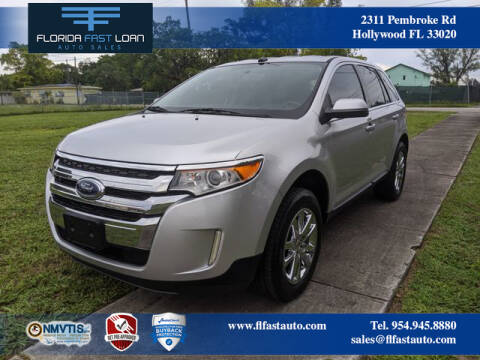 2011 Ford Edge For Sale >> Ford Edge For Sale In Hollywood Fl Florida Fast Loan Auto