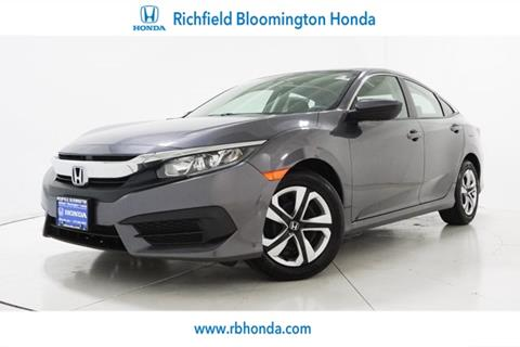 2016 Honda Civic for sale in Richfield, MN