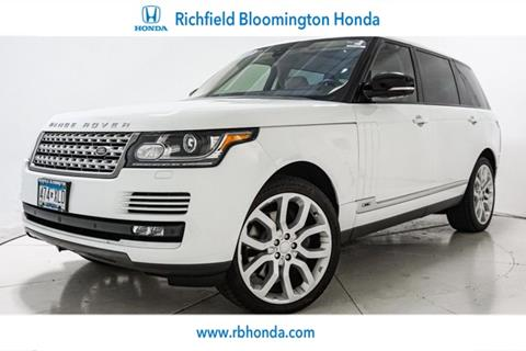 2017 Land Rover Range Rover for sale in Richfield, MN