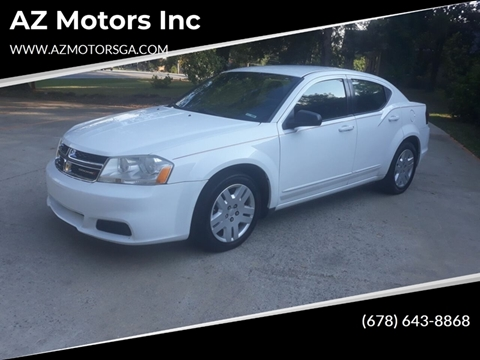 2012 Dodge Avenger for sale in Oakwood, GA