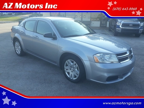 2013 Dodge Avenger for sale in Oakwood, GA