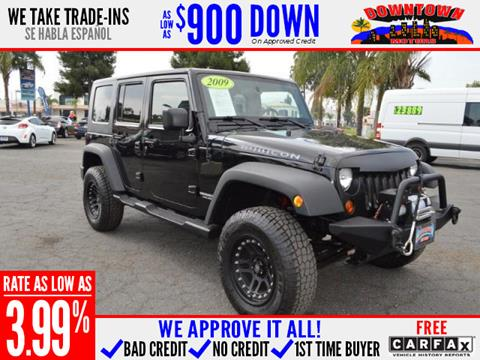 2009 Jeep Wrangler Unlimited for sale in San Bernardino, CA