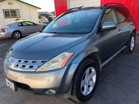 2005 Nissan Murano SL for sale at Ideal Car Sales in Los Banos CA