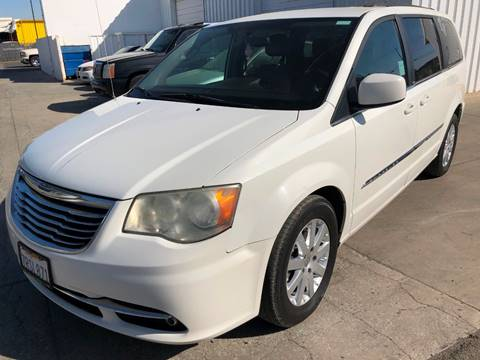 2012 Chrysler Town and Country Touring for sale at Ideal Car Sales in Los Banos CA