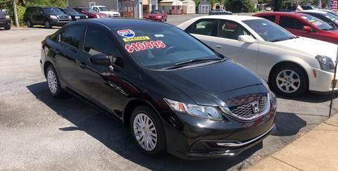 2014 Honda Civic for sale in Brunswick, GA