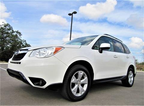 2016 Subaru Forester for sale in San Antonio, TX
