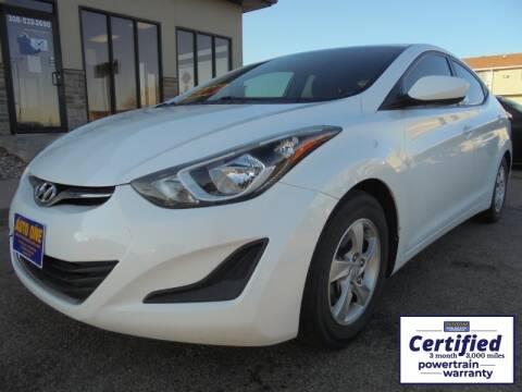 2014 Hyundai Elantra for sale in North Platte, NE