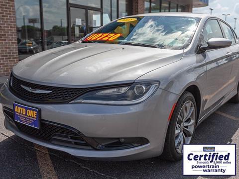 2015 Chrysler 200 For Sale >> Used Chrysler 200 For Sale In Nebraska Carsforsale Com