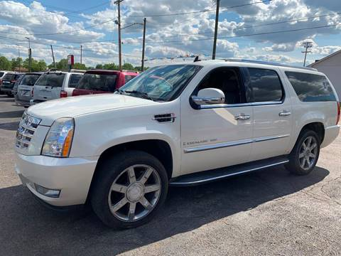 Used Cadillac Escalade For Sale >> 2007 Cadillac Escalade Esv For Sale In Columbus Oh