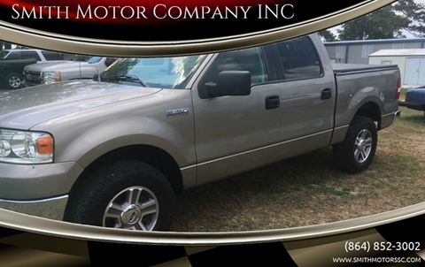 2006 Ford F-150 for sale at Smith Motor Company INC in Mc Cormick SC