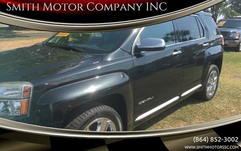 2013 GMC Terrain for sale at Smith Motor Company INC in Mc Cormick SC