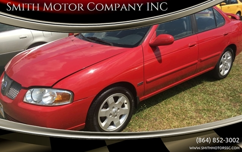 2005 Nissan Sentra for sale at Smith Motor Company INC in Mc Cormick SC