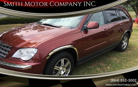 2007 Chrysler Pacifica for sale at Smith Motor Company INC in Mc Cormick SC
