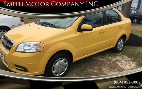 2011 Chevrolet Aveo for sale at Smith Motor Company INC in Mc Cormick SC
