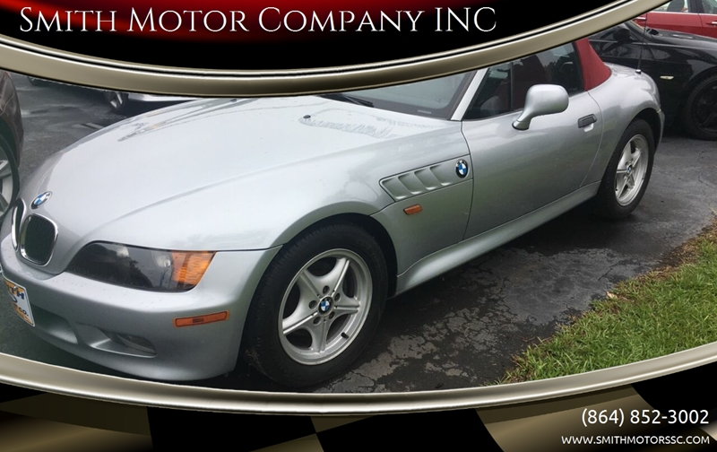 1996 BMW Z3 for sale at Smith Motor Company INC in Mc Cormick SC