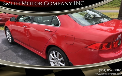 2006 Acura TSX for sale at Smith Motor Company INC in Mc Cormick SC