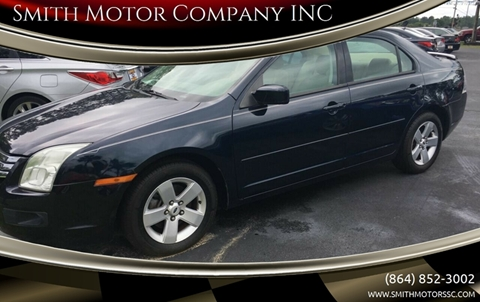 2008 Ford Fusion for sale at Smith Motor Company INC in Mc Cormick SC