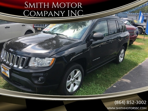 2012 Jeep Compass for sale at Smith Motor Company INC in Mc Cormick SC