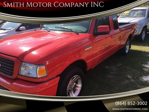 2006 Ford Ranger for sale at Smith Motor Company INC in Mc Cormick SC
