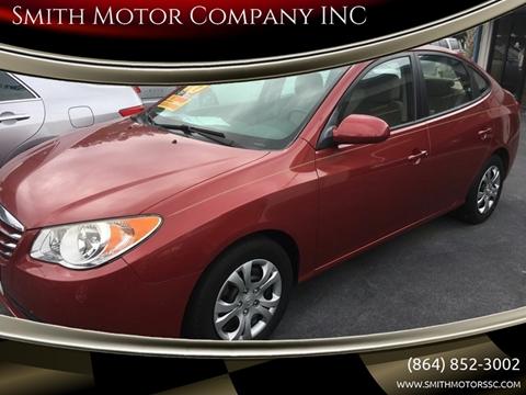 2010 Hyundai Elantra for sale at Smith Motor Company INC in Mc Cormick SC