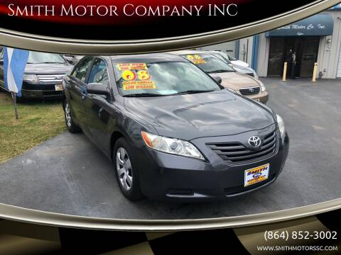 2008 Toyota Camry for sale at Smith Motor Company INC in Mc Cormick SC