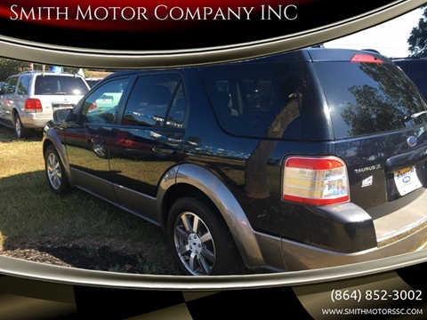2008 Ford Taurus X for sale at Smith Motor Company INC in Mc Cormick SC