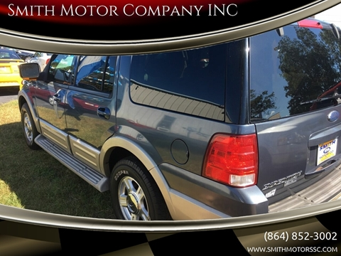 2005 Ford Expedition for sale at Smith Motor Company INC in Mc Cormick SC