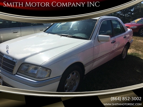 1996 Mercedes-Benz C-Class for sale at Smith Motor Company INC in Mc Cormick SC