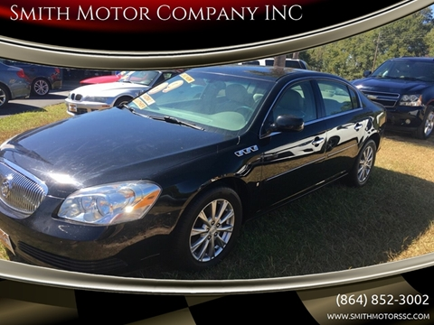 2009 Buick Lucerne for sale at Smith Motor Company INC in Mc Cormick SC