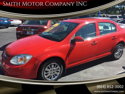 2008 Chevrolet Cobalt for sale at Smith Motor Company INC in Mc Cormick SC