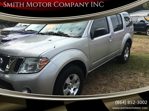 2011 Nissan Pathfinder for sale at Smith Motor Company INC in Mc Cormick SC