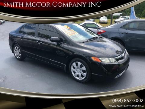 2008 Honda Civic for sale at Smith Motor Company INC in Mc Cormick SC