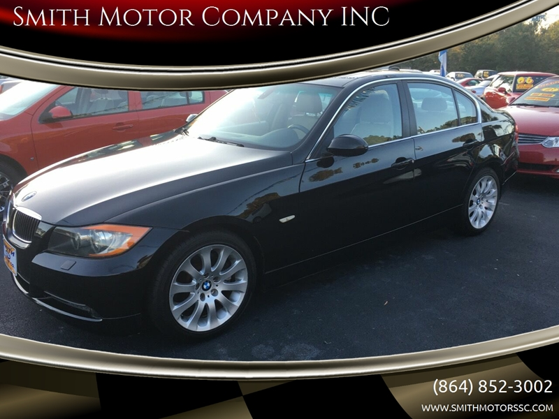2006 BMW 3 Series for sale at Smith Motor Company INC in Mc Cormick SC