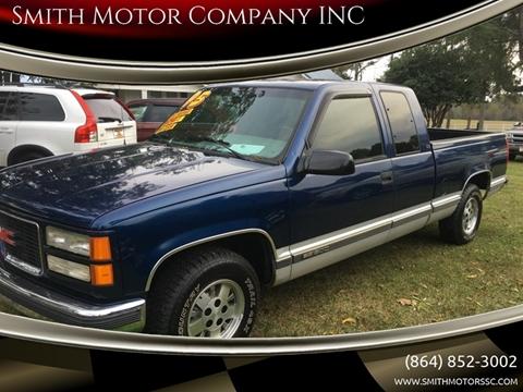 1995 GMC Sierra 1500 for sale in Mc Cormick, SC